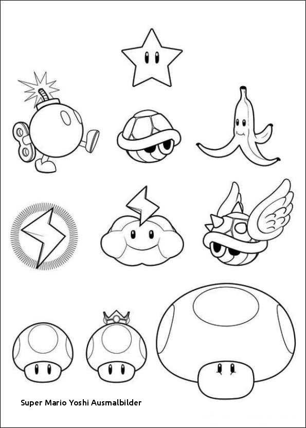 Ausmalbilder Super Mario 3d World Neu 28 Super Mario Yoshi Ausmalbilder Stock
