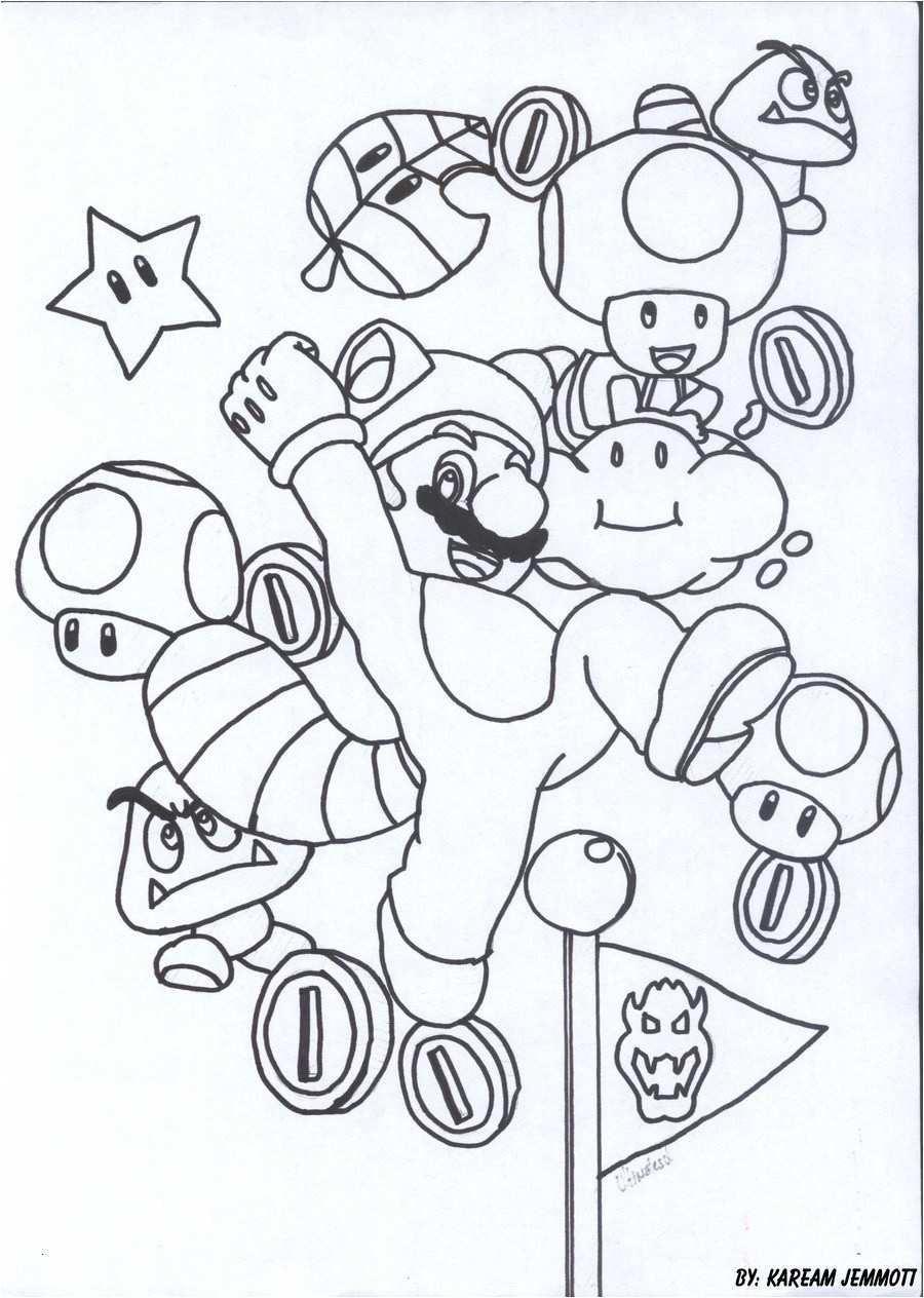 Ausmalbilder Super Mario 3d World Neu Coloriage Mario Bros Yoshi Beautiful 35 Ausmalbilder Super Mario 3d Bild