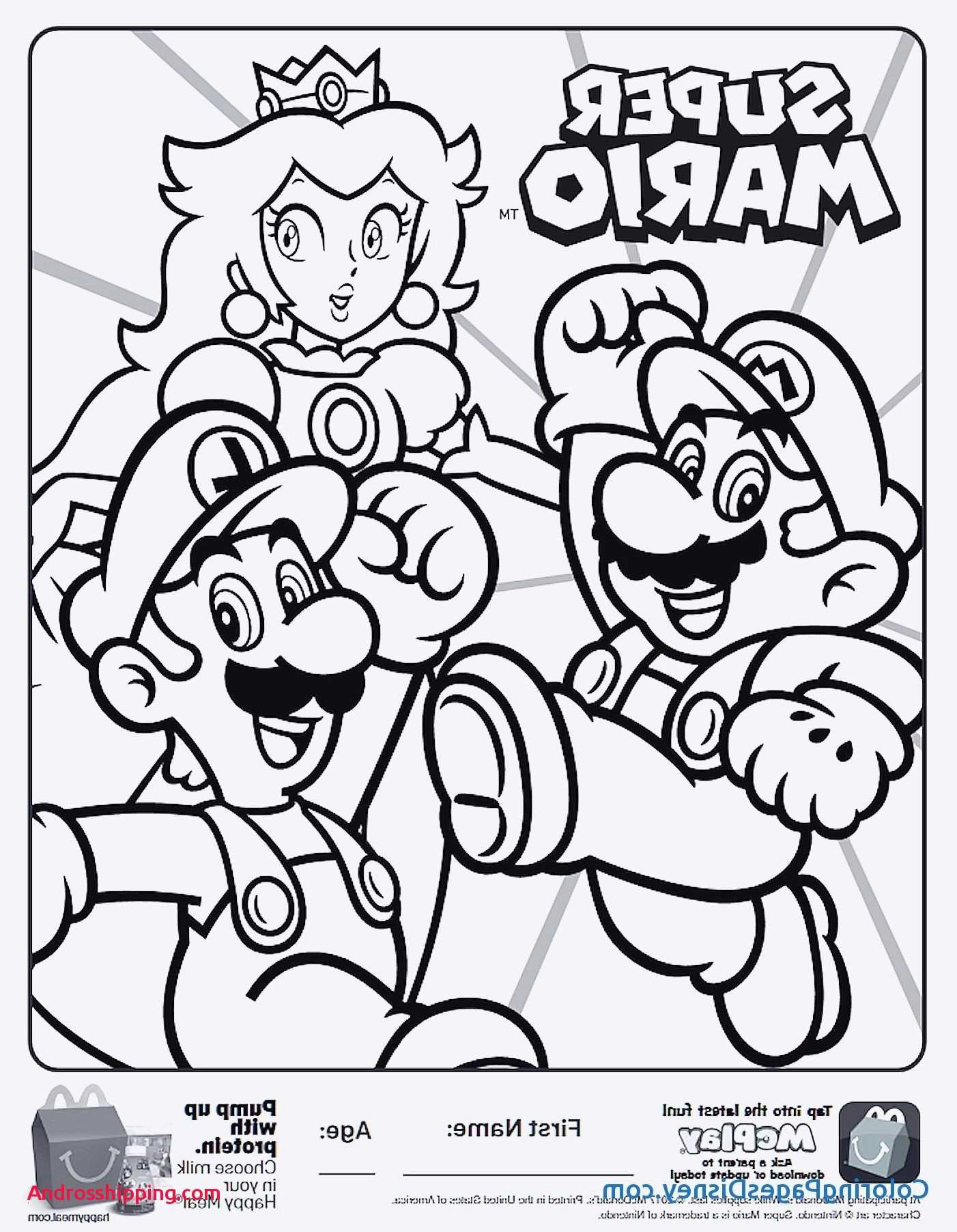 Ausmalbilder Super Mario 3d World Neu Mario Power Ups Coloring Pages Luxury top 10 Coloring Pages Fotos