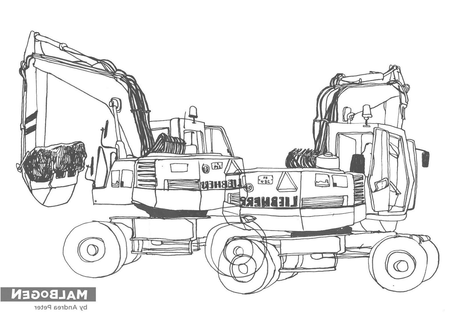 ausmalbilder traktor fendt vorlage : kleurplaat tractor