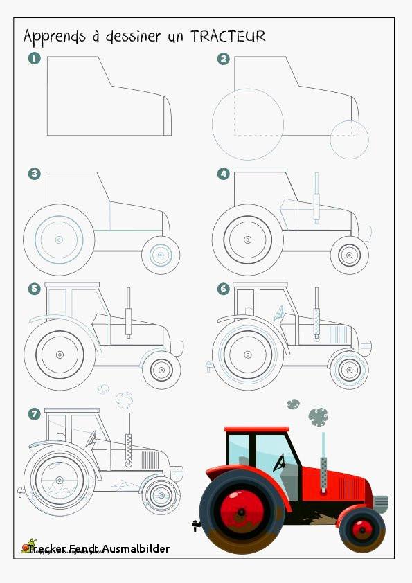 99 frisch ausmalbilder traktor fendt stock kinder bilder - Apprendre a dessiner violetta ...