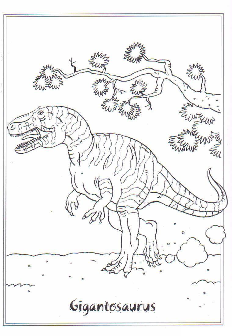Ausmalbilder Traktor Mit Frontlader Einzigartig Coloring Page Dinosaurs 2 Gigantosaurus Malvorlagen Neu Malvorlagen Fotos