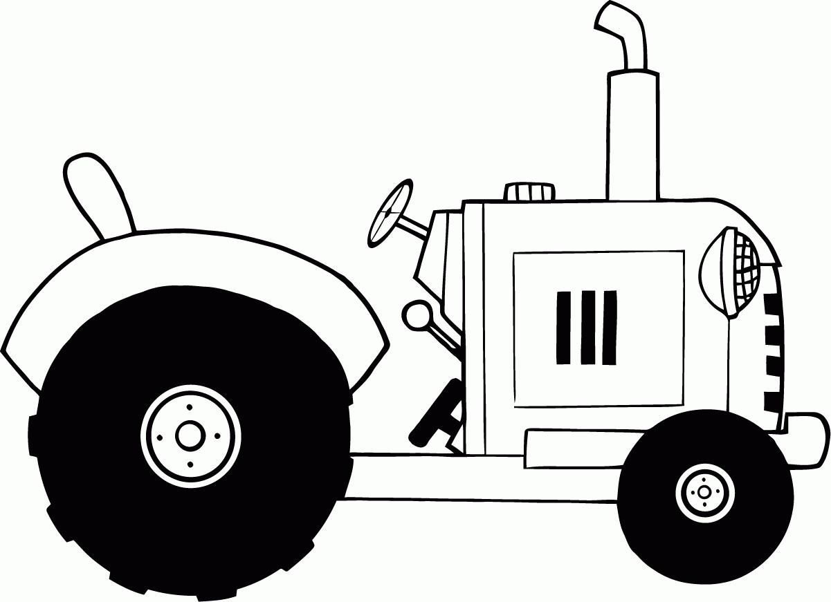 "Ausmalbilder Traktor Mit Frontlader Genial Vintage Coloring Book Illustrations Ausmalbild ""traktor"" Das Bild"