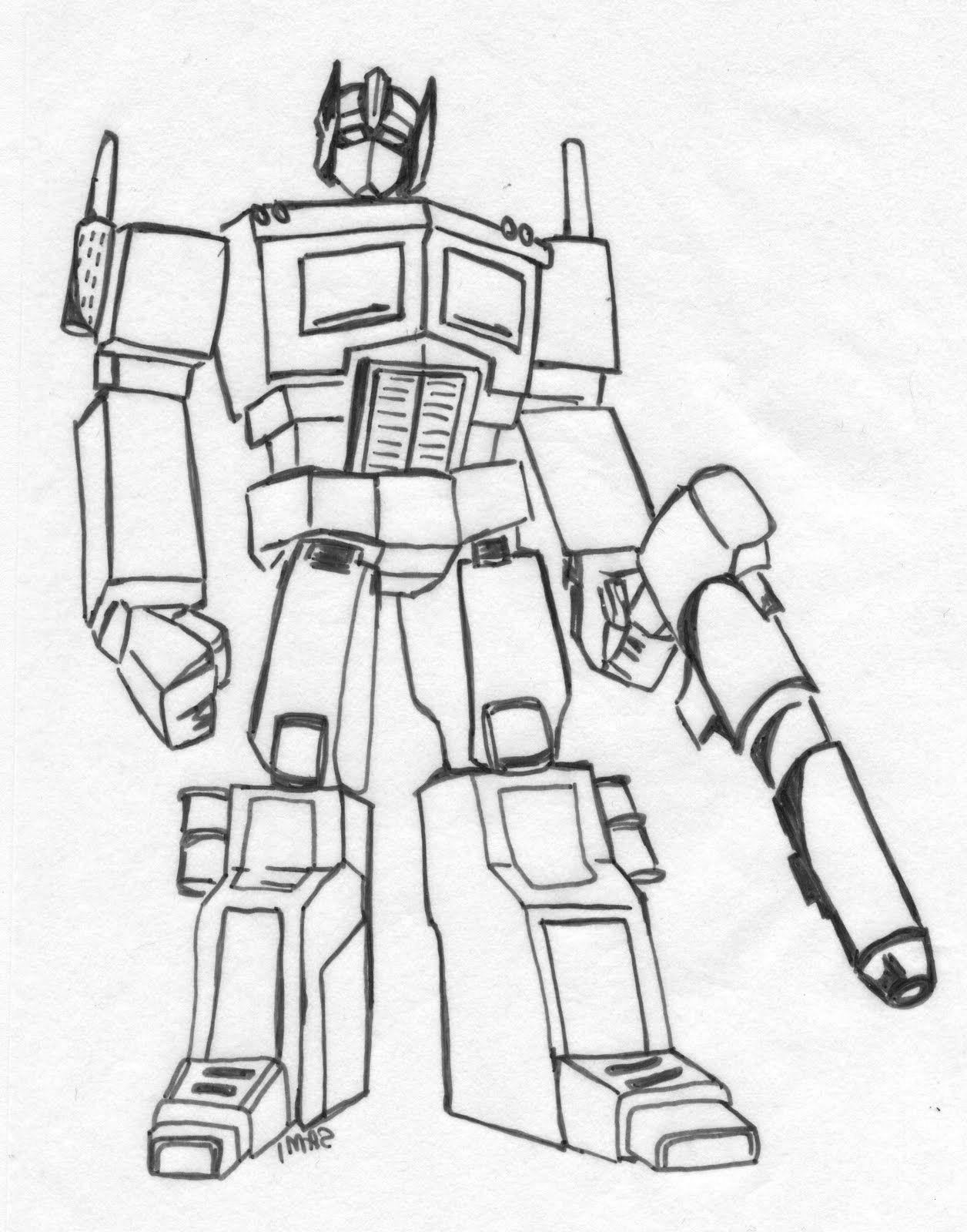 Transformers Ausmalbilder Optimus Prime Neu Ausmalbilder