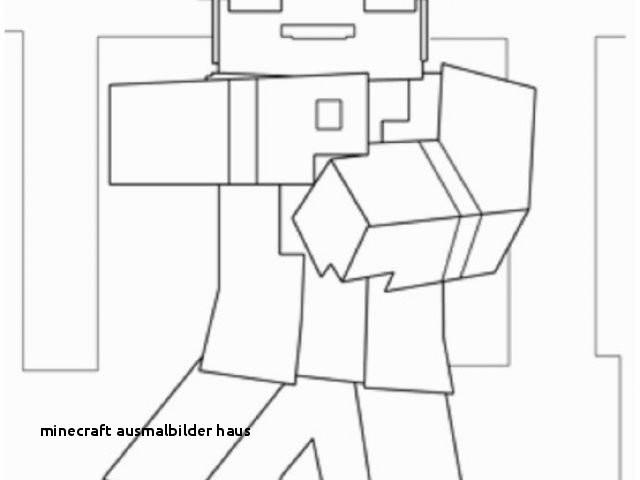 Ausmalbilder Von Minecraft Das Beste Von Minecraft Ausmalbilder Haus Malvorlage Haus Unique tolle Stock