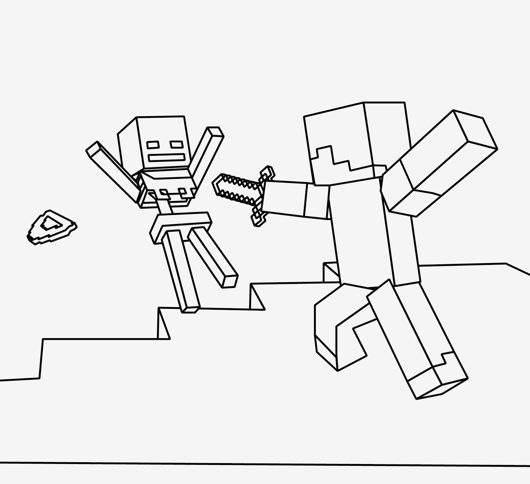 Ausmalbilder Von Minecraft Einzigartig Bilder Zum Ausmalen Bekommen Ausmalbilder Minecraft Fotos
