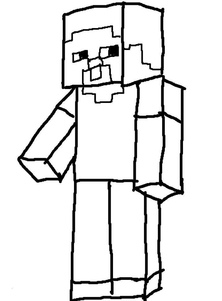 Ausmalbilder Von Minecraft Frisch Lovely Minecraft Steve Coloring Pages Coloring Pages Neu Fotografieren