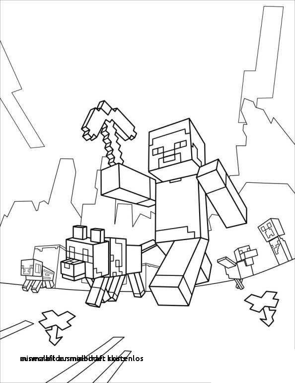 Ausmalbilder Von Minecraft Neu 20 Ausmalbilder Minecraft Kostenlos Colorprint Galerie