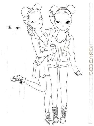 Ausmalbilder Von Violetta Inspirierend Violetta Foxy Draws Webseite Www Foxydraws De Ausmalbilder Bild