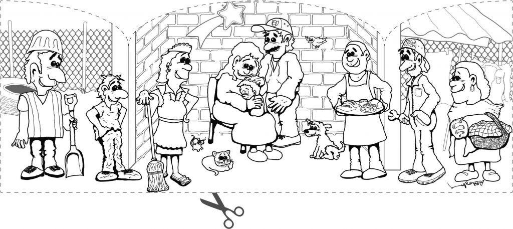 Ausmalbilder Weihnachten Krippe Frisch Ausmalbilder Advent Und Weihnachten Pfarreiengemeinschaft Das Bild
