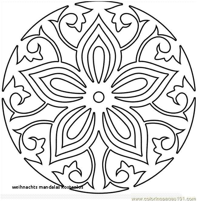 Ausmalbilder Weihnachten Mandala Frisch Weihnachts Mandalas Kostenlos Malvorlage A Book Coloring Pages Best Fotos