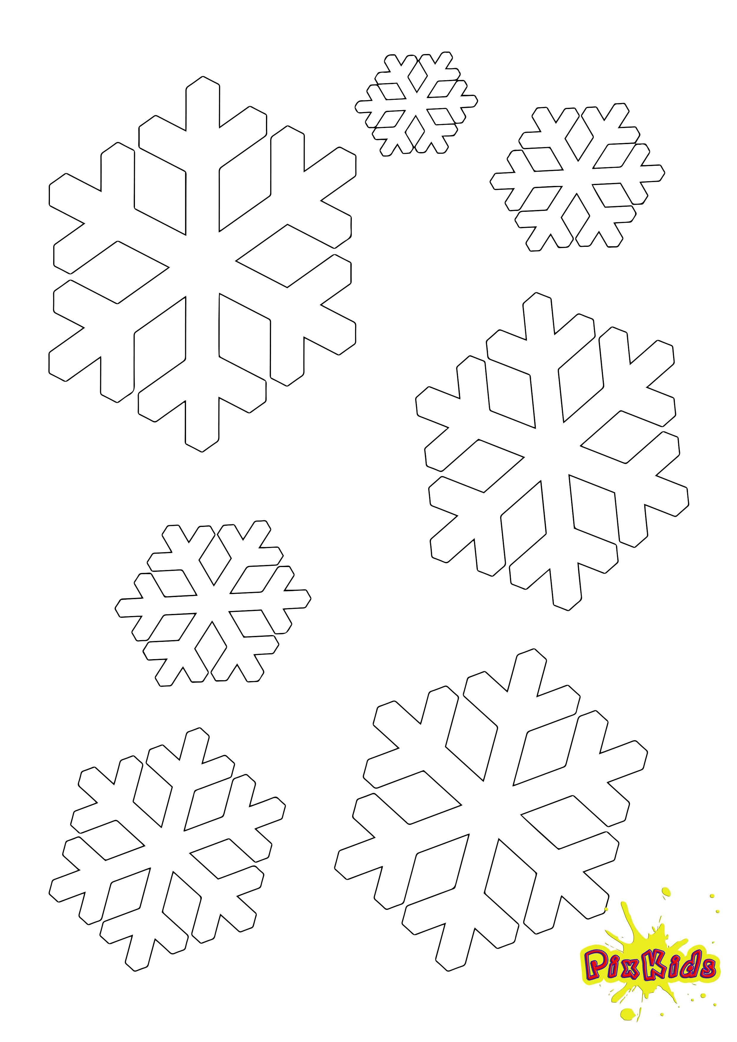 Ausmalbilder Weihnachten Schneeflocke Einzigartig Malvorlagen Schneeflocke Mit Schneemännern Frisch Weihnachten Bilder