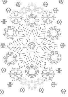 Ausmalbilder Weihnachten Schneeflocke Neu Schneeflocken Mehr Weihnachten Pinterest Fotografieren