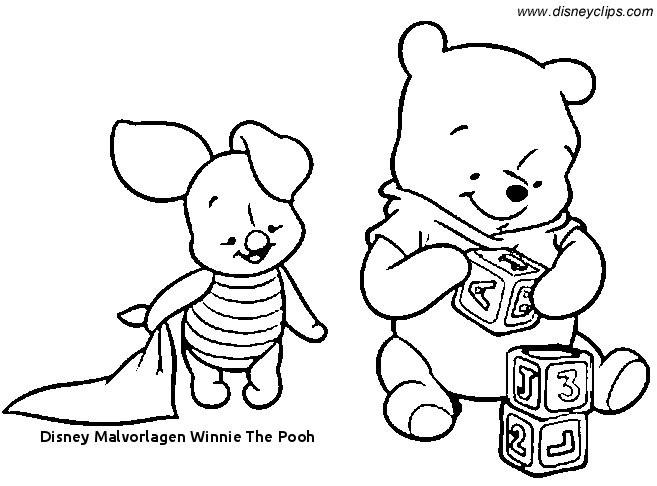 Ausmalbilder Winnie Pooh Einzigartig 23 Disney Malvorlagen Winnie the Pooh Bild