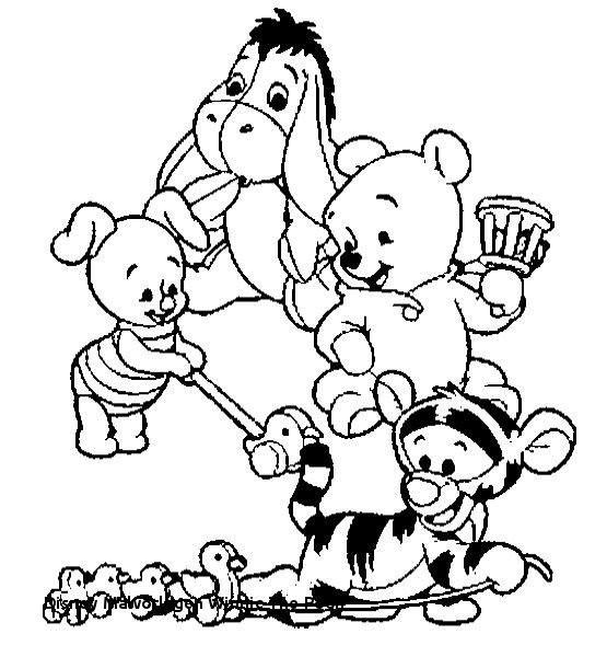 Ausmalbilder Winnie Pooh Einzigartig 23 Disney Malvorlagen Winnie the Pooh Das Bild