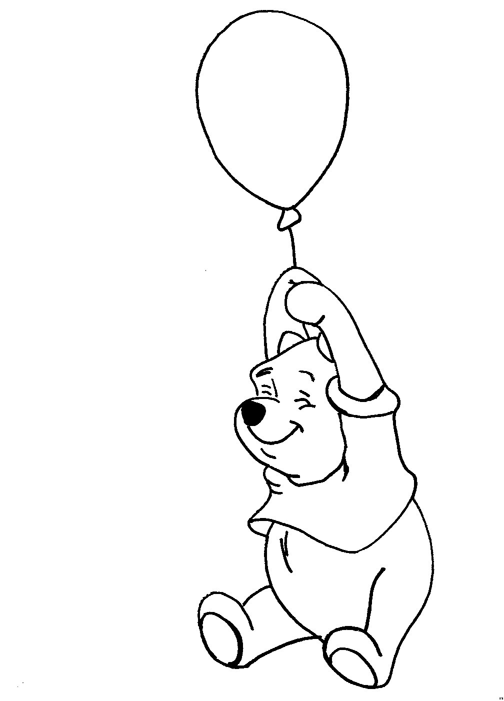 Ausmalbilder Winnie Pooh Und Seine Freunde Malvorlagen Das Beste Von Winnie Puh Mit Luftballon Ausmalbild & Malvorlage sonstiges Frisch Das Bild
