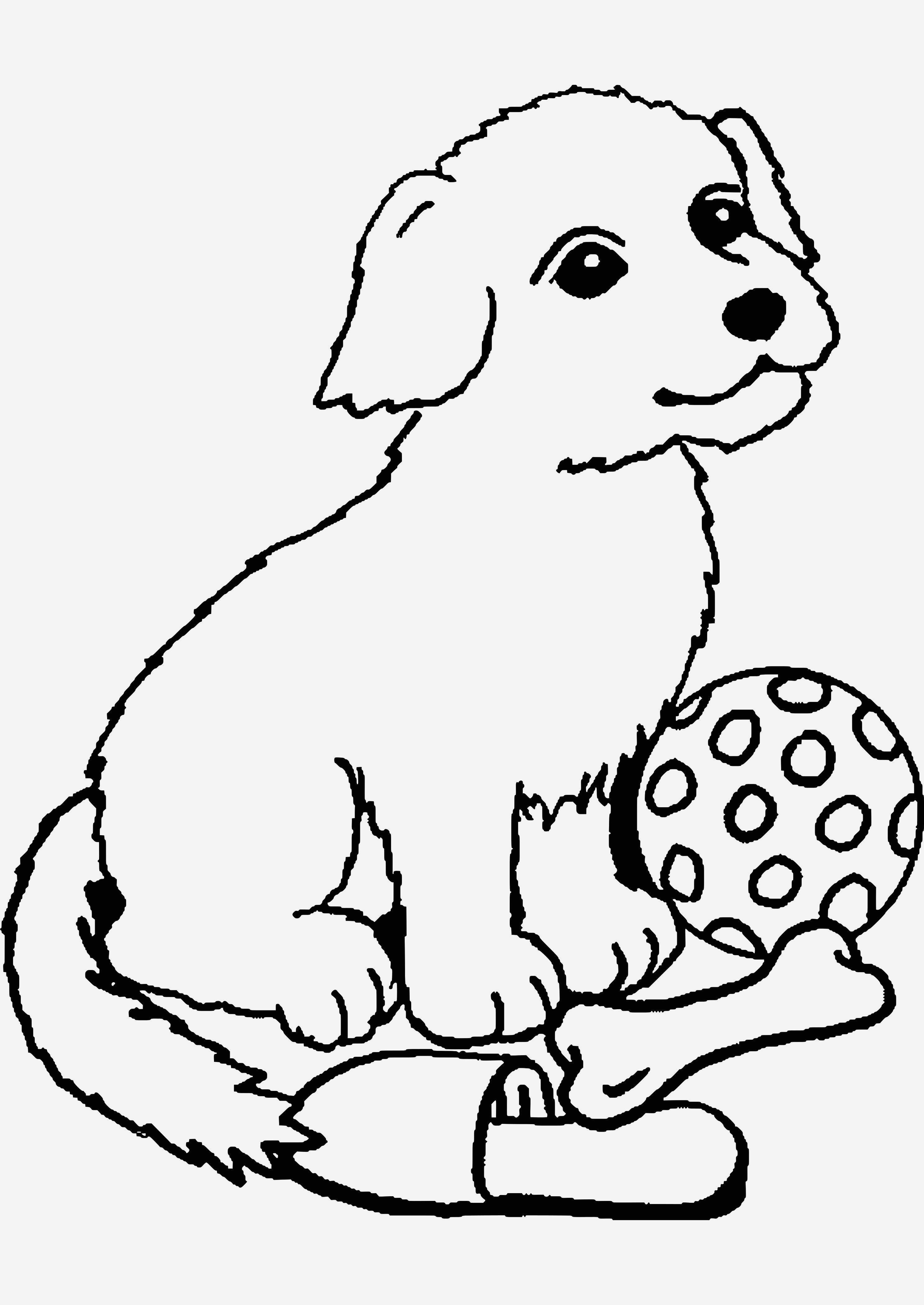Ausmalbilder Zum Ausdrucken Hunde Einzigartig Beispielbilder Färben Ausmalbilder Hund Und Hase Bild