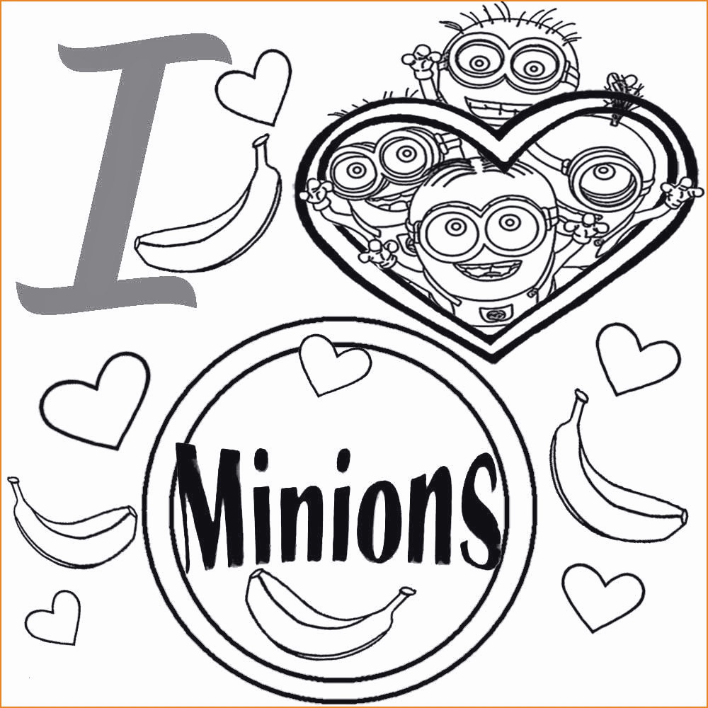 Ausmalbilder Zum Ausdrucken Minions Einzigartig Ausmalbilder Von Minions Luxus Minion Stuart Braucht Dingend Gelbe Das Bild