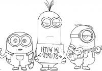 Ausmalbilder Zum Ausdrucken Minions Einzigartig Minion Coloring Pages Beautiful Coloring Pages Minion Unique Free Galerie