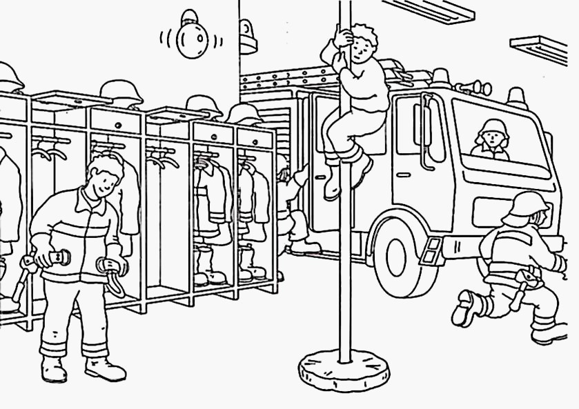 14 Malvorlagen Feuerwehr Ausmalbilder Feuerwehr Kostenlos 01