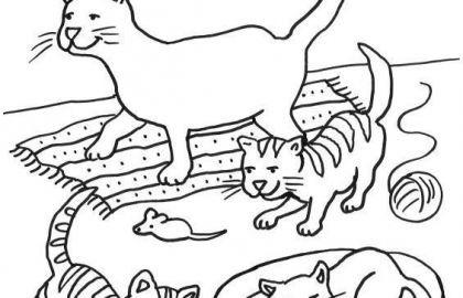 Baby Katzen Ausmalbilder Genial Malvorlagen Katze Ausmalbilder Von Katzen Luxus 50 Ausmalbilder Hund Das Bild
