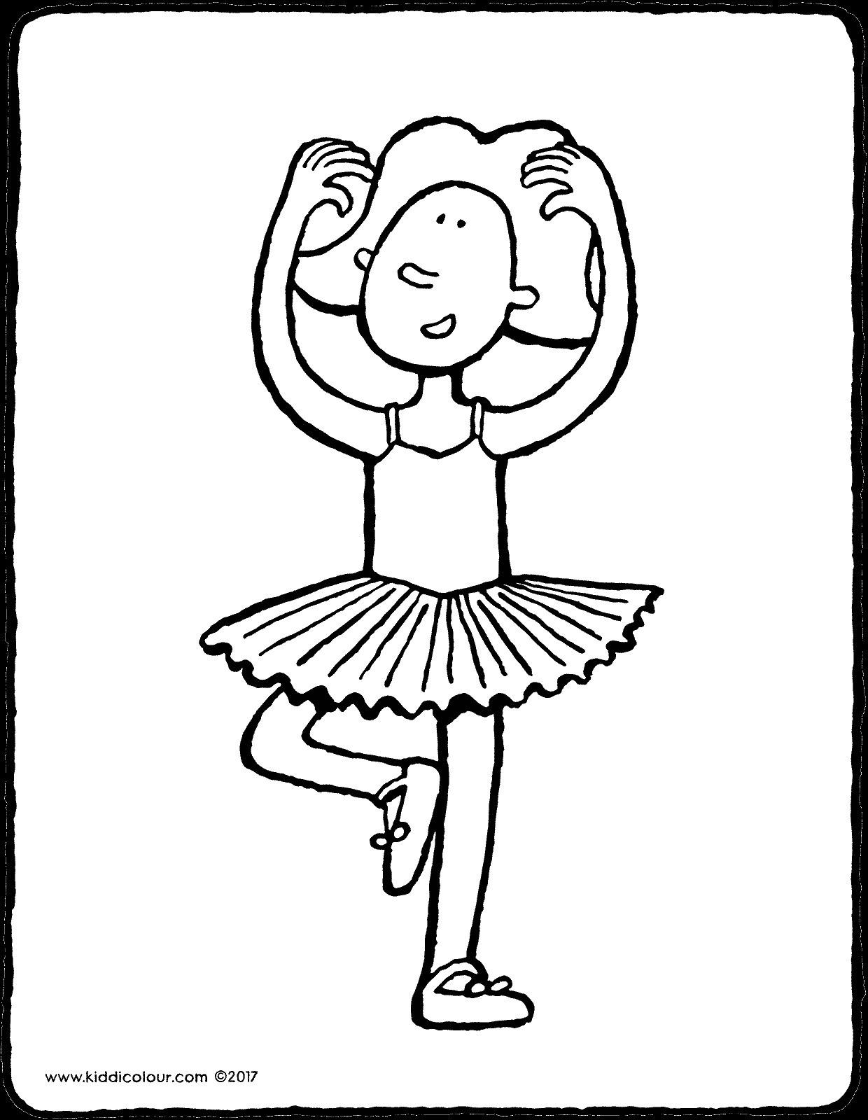 Emma Tanzt Ballet Kiddimalseite Best Ballett Ausmalbilder