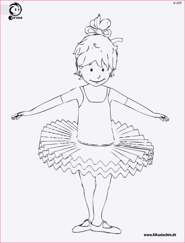 Ballerina Zum Ausmalen Inspirierend Kikaninchen Ausmalbilder Bild