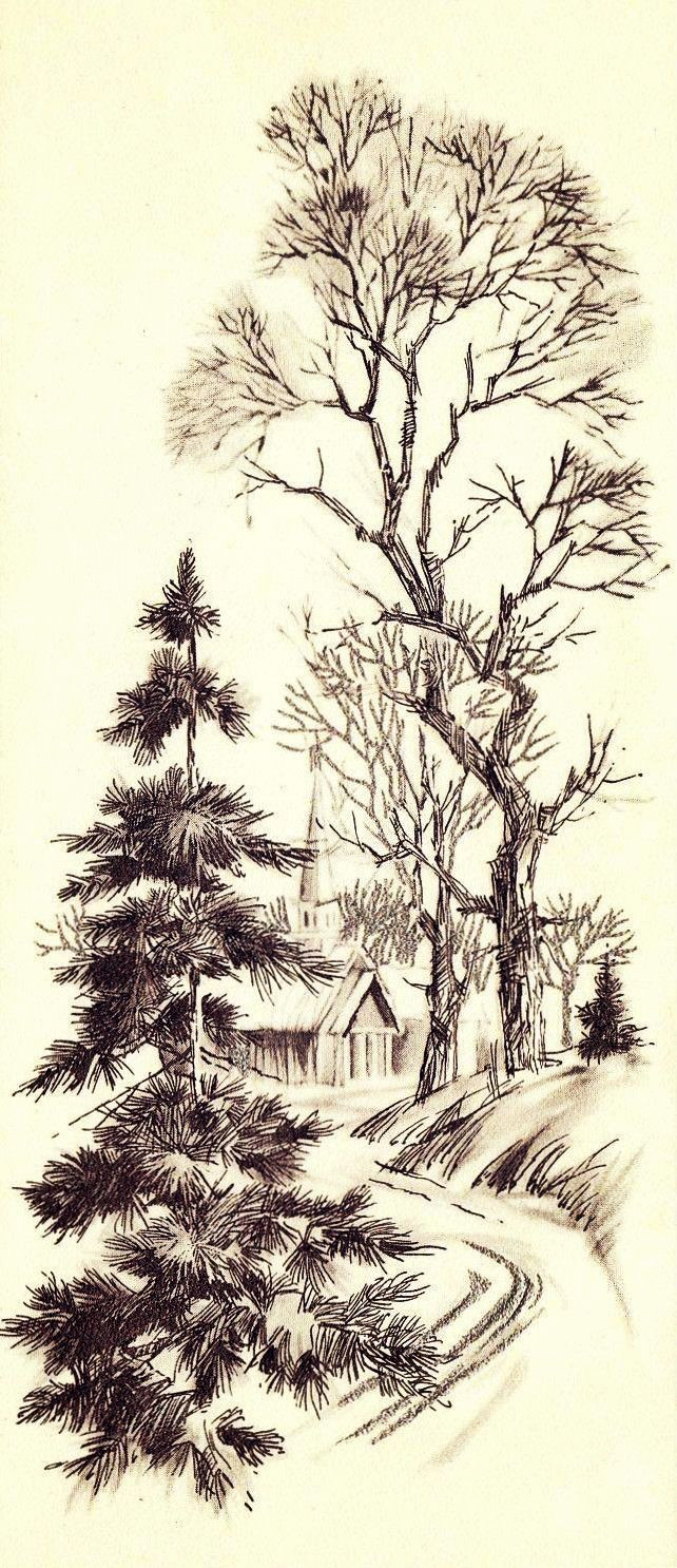 Baum Zeichnung Bleistift Genial Pin Von Moudji Auf Graphic Pinterest Bild