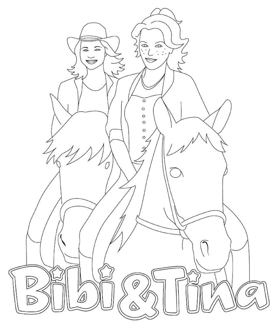 Bibi Blocksberg Ausmalbild Frisch Ausmalbilder Bibi Und Tina Kostenlos – Ausmalbilder Für Kinder Bild