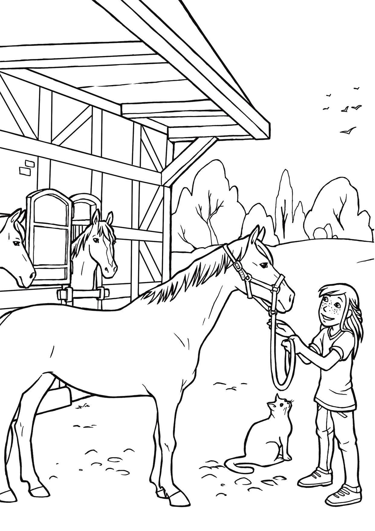 Bibi Und Tina Bilder Zum Drucken Genial 45 Best Ausmalbilder Pferde Gratis Zum Drucken Bilder