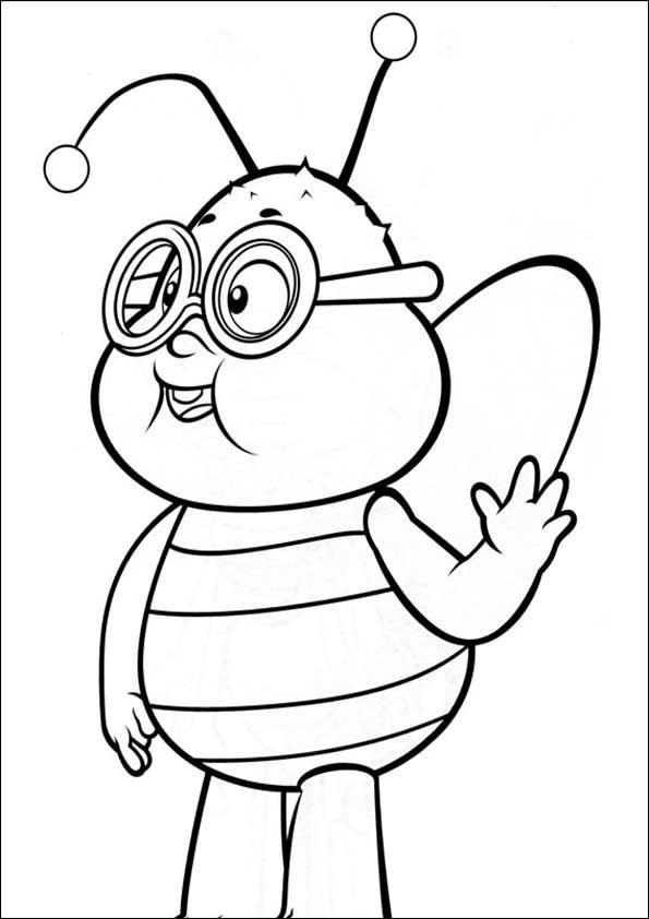 Biene Maja Ausmalbild Frisch Biene Maja Malvorlagen Sammlung