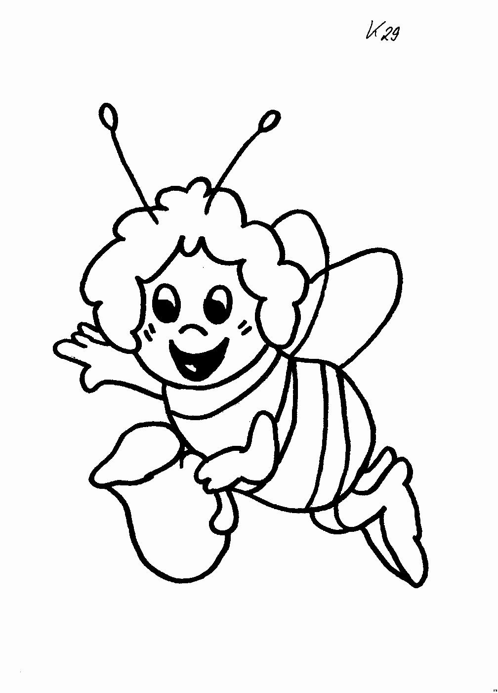 Biene Maja Ausmalbild Neu 50 Ideen Von Ausmalbilder Biene Maja Stock