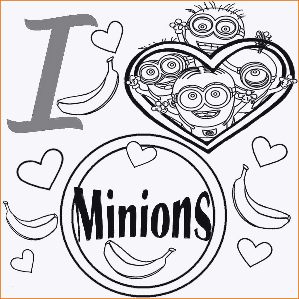 Bilder Zum Ausmalen Minions Einzigartig Minions Malvorlagen Kostenlos Schön Coole Ausmalbilder Minions Fotografieren