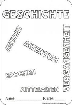 Biologie Deckblatt Zum Ausmalen Das Beste Von Deckblatt Geschichte Schule Schule Pinterest Bilder