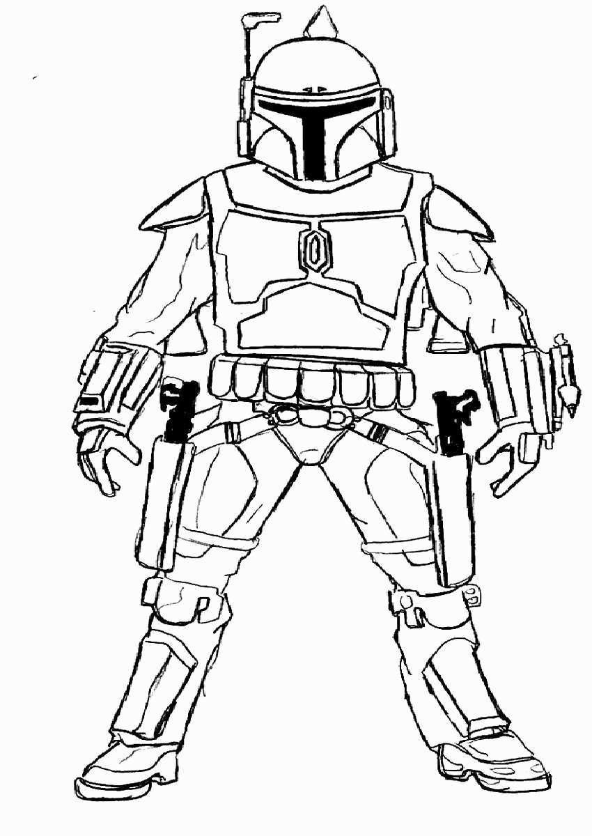 Boba Fett Ausmalbilder Frisch Boba Fett Coloring Pages 50 Luxury Gallery Boba Fett Coloring Pages Bild
