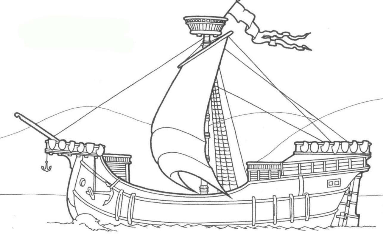Boot Zum Ausmalen Genial 47 Malvorlagen Schiffe Gratis My Blog Fotos