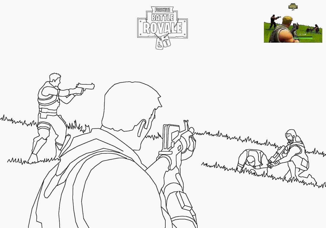 Clash Royale Bilder Zum Ausmalen Neu 50 Neu fortnite Ausmalbilder Malvorlagen Sammlungen Das Bild