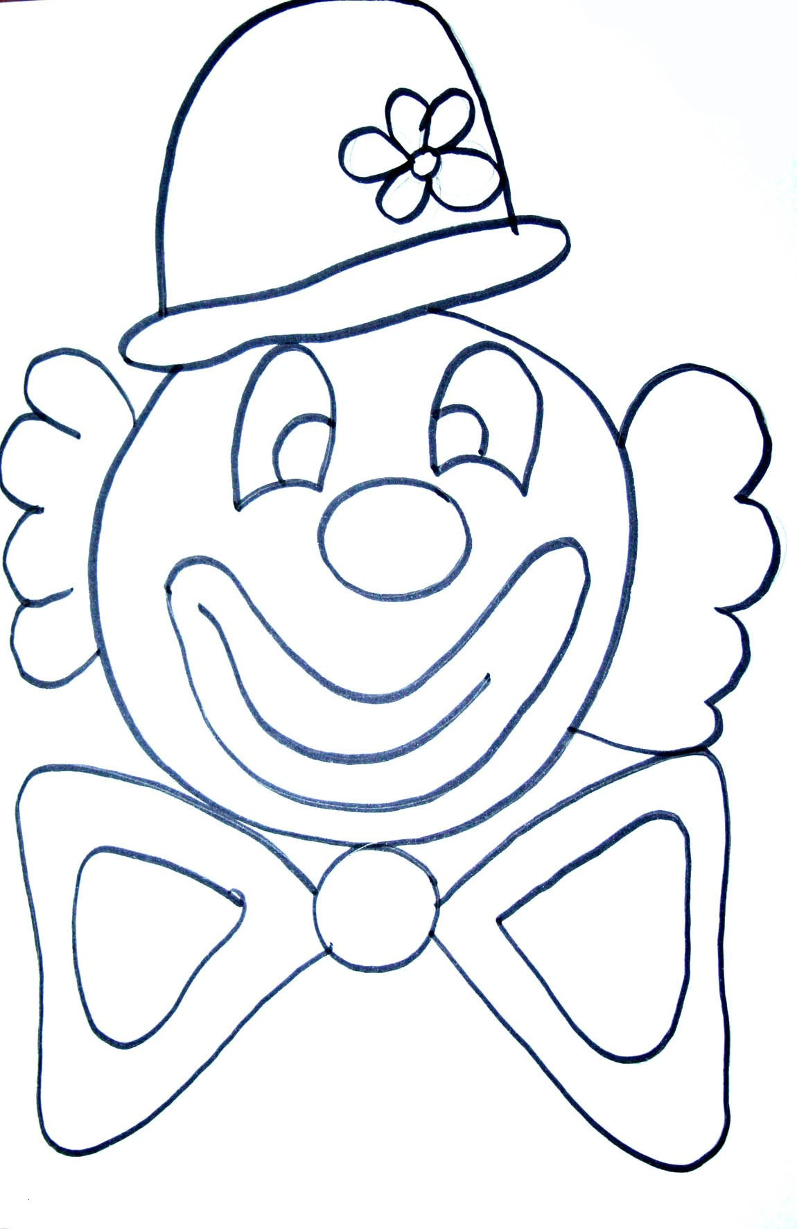 Clown Zum Ausmalen Frisch 40 Clown Ausmalbilder Ausdrucken Scoredatscore Best Clowns Sammlung