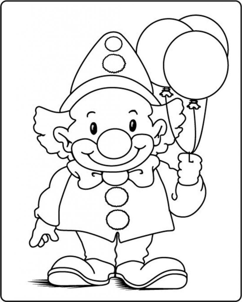 Janbleil Clown Ausmalbilder 600 Ovh Ausmalbilder Clown