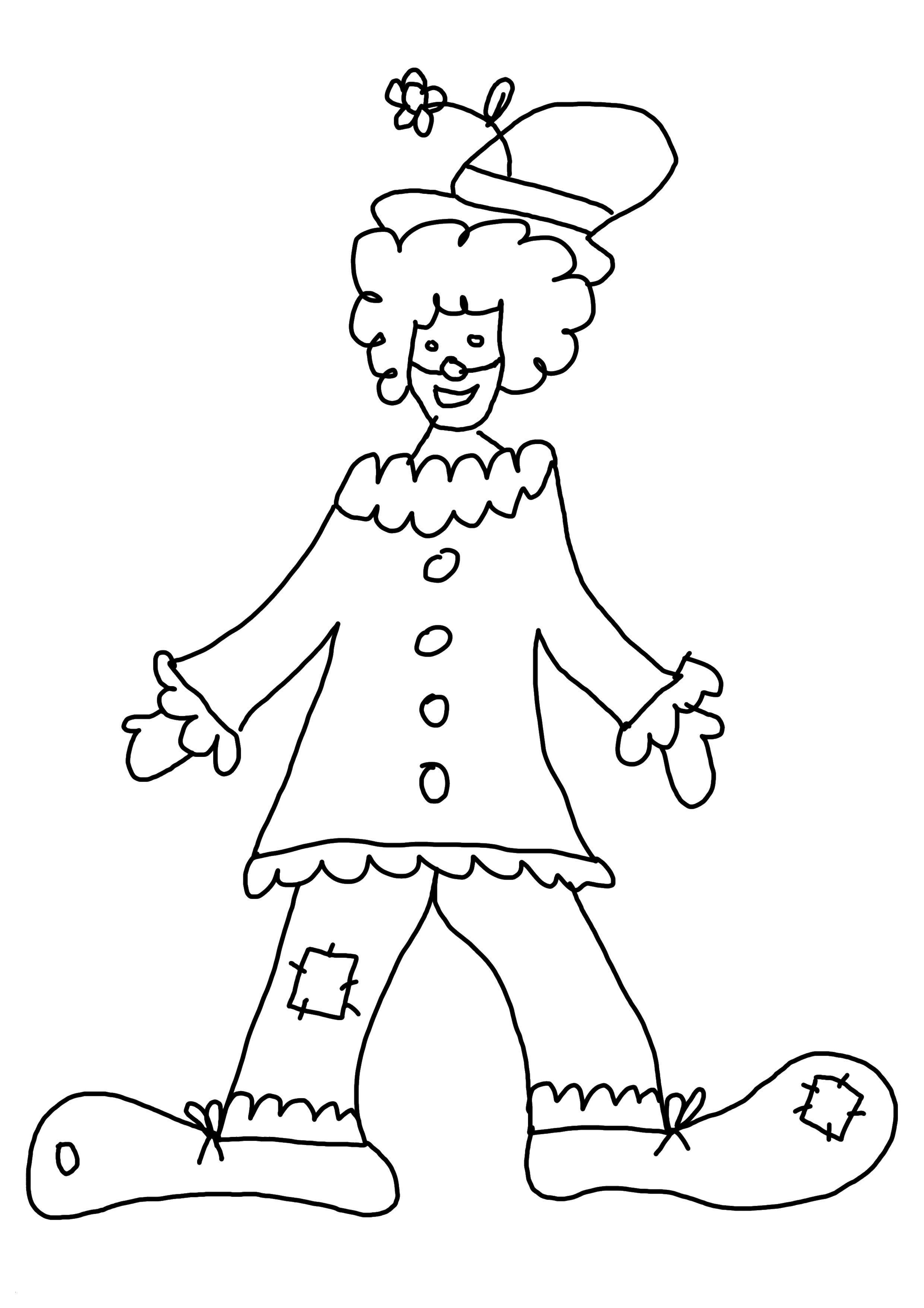 Clown Zum Ausmalen Neu Malvorlagen Clown Inspirierend 40 Clown Ausmalbilder Ausdrucken Sammlung