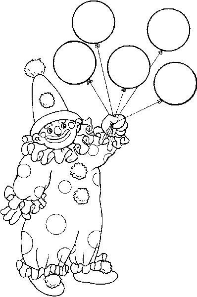 Clowns Zum Ausmalen Frisch Coloring Page Circus Kids N Fun Clowns Pinterest Bild