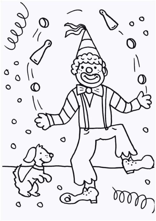 Clowns Zum Ausmalen Genial 25 Schön Clown Zum Ausmalen – Malvorlagen Ideen Bild