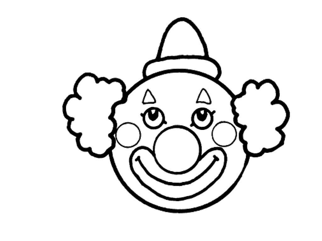 Clowns Zum Ausmalen Genial Druckbare Malvorlage Ausmalbild Fasching Beste Druckbare Galerie