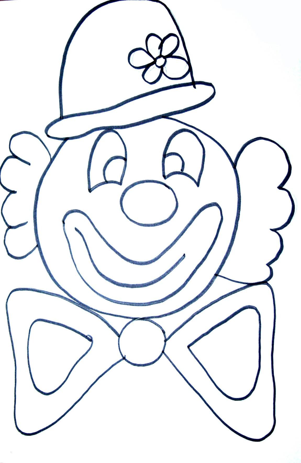 Clowns Zum Ausmalen Neu 40 Clown Ausmalbilder Ausdrucken Scoredatscore Best Clowns Galerie