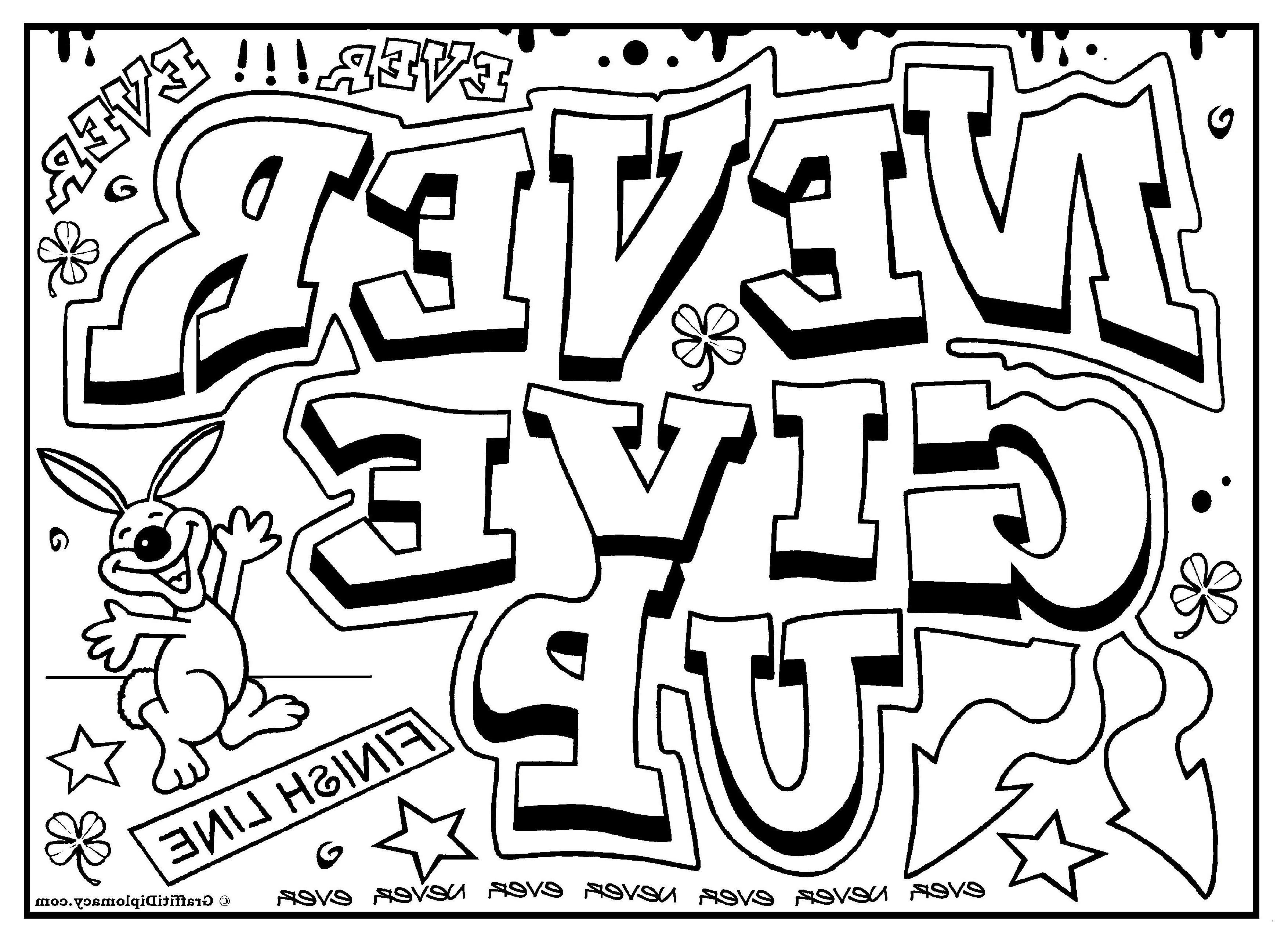 Coole Ausmalbilder Graffiti Einzigartig 40 Fantastisch Coole Ausmalbilder Graffiti – Große Coloring Page Fotos