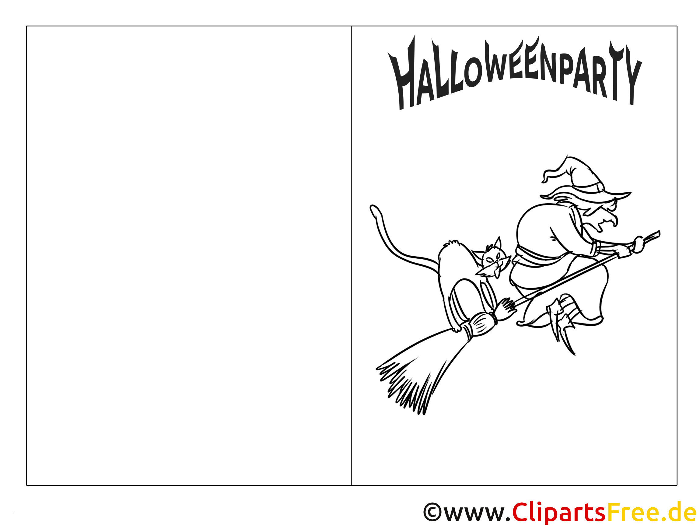 Coole Ausmalbilder Graffiti Neu Gruselige Hexe Auf Besen Bild Zum Ausmalen Genial Halloween Fotografieren