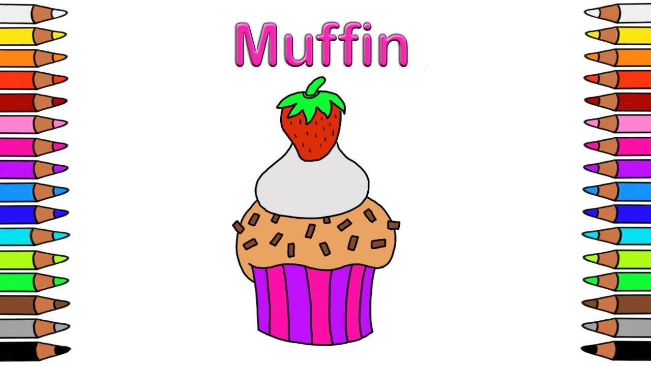 cupcake zum ausmalen das beste von ausmalbilder muffins