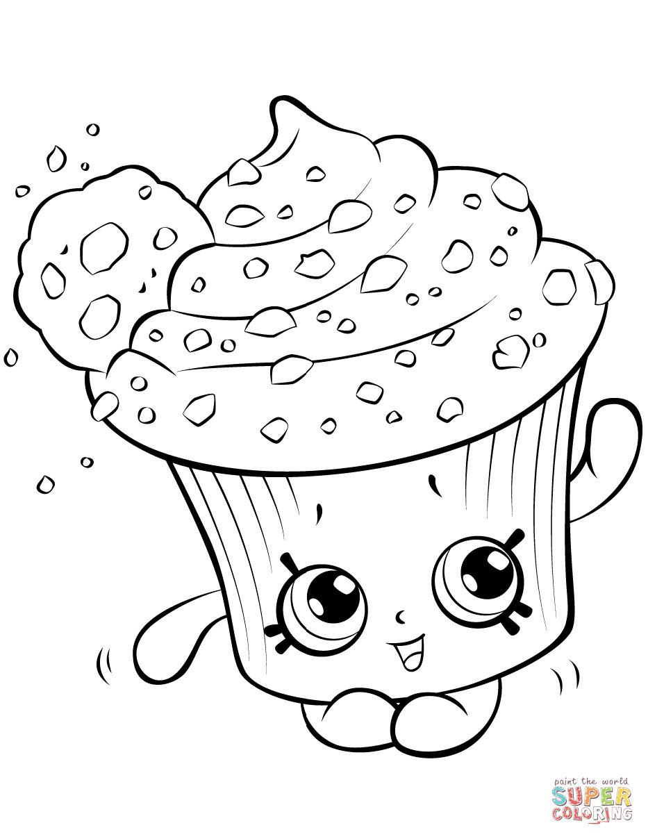 Cupcake Zum Ausmalen Einzigartig Petkins Royal Cupcake Shopkin Coloring Page Schön Ausmalbilder Fotografieren