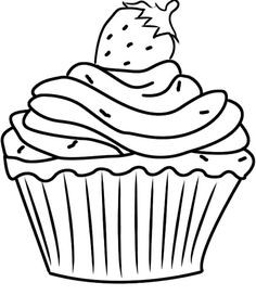 Cupcake Zum Ausmalen Genial 361 Besten Cupcake Sweets Bilder Auf Pinterest In 2018 Stock