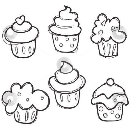 Cupcake Zum Ausmalen Inspirierend Cupcakes Art Ideas Pinterest Sammlung